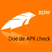 Doe de APK check