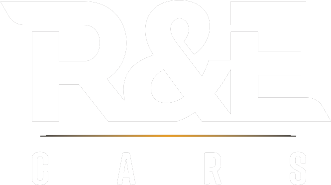 R&E Cars logo