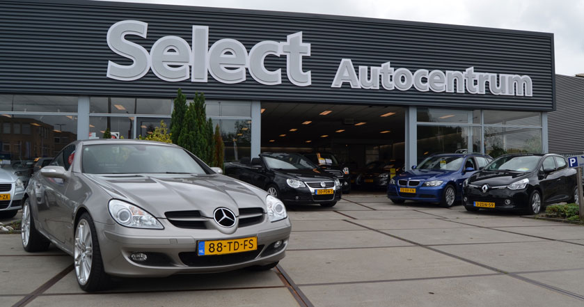 Pand select autocentrum