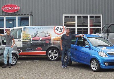 Microcar Wageningen Minicar Centrum In Veenendaal